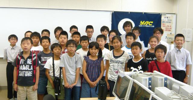 桐蔭中学校科学部のみんなとプログラミングを楽しんだよ