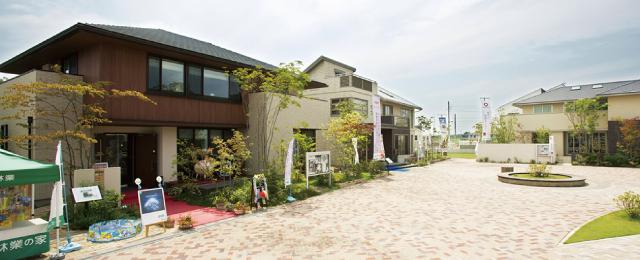 そろそろほしいなマイホーム、家づくりはじめの一歩① 最新鋭のモデルハウスが建ち並ぶ 総合住宅展示場でイメージ固め