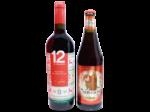 クリスマス限定ラベルワイン&ビール