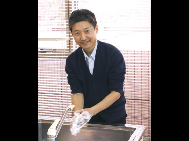 知っておこう! 家庭でできる<br/>ノロウイルスの予防策<br/>「手洗いマイスター」が手洗い法を伝授