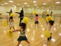 親子で Let'sチアダンス!!