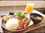 にはちの子どもとHAPPYランチvol.4 つれづれcafe(カフェ)