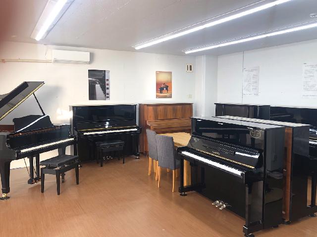 楽器店が中古ピアノ販売ショップをオープン<br/>専門店ならではの品揃えとサービスが充実