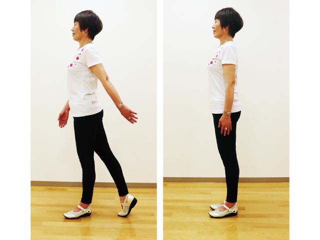 美しい姿勢で立つ、歩く、できていますか?<br/>  「ポスチャーウォーキング」<br/> 買い物や室内の移動時など、日常生活に取り入れて