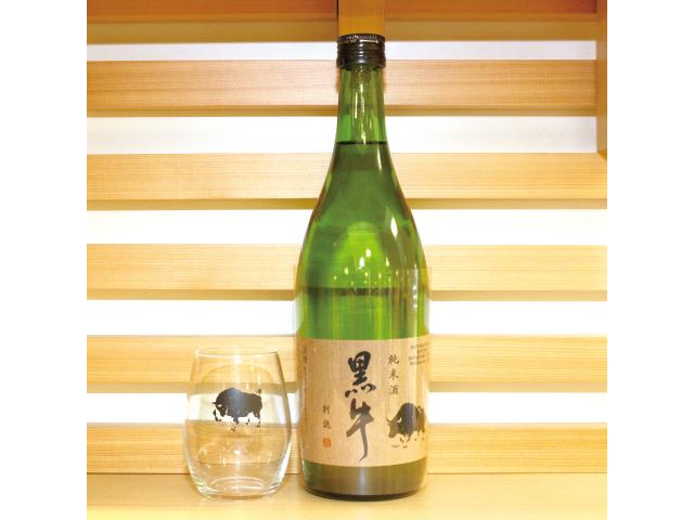名手酒造×近鉄「黒牛別誂(べつあつらえ)純米酒」