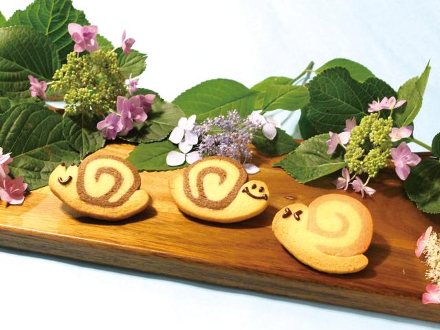 かわいい、おいしい、簡単!makimakiクッキング<br/>「カタツムリクッキーの巻」