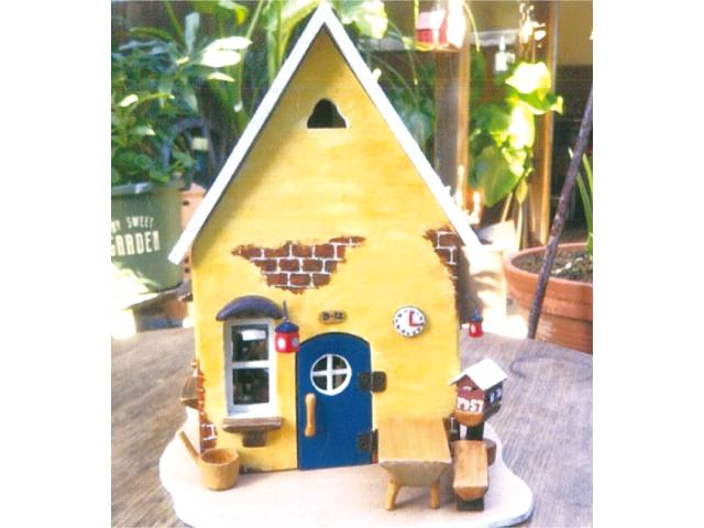 ドールハウスとゆるキャラ組木展